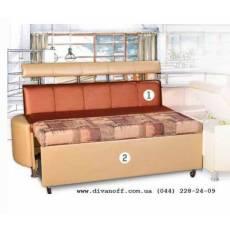 Мадрид кухонный диван со спальным местом