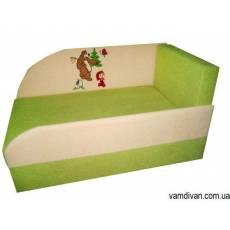 Детский диван малютка салатовый №4471