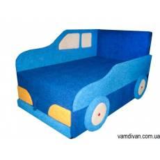 Мебель детский диван кровать синий №4496