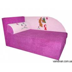 Детский диван в сиреневую детскую №4516