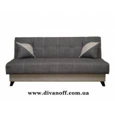Диван Сиэтл, ткань дарьянец серый