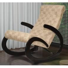Кресло качалка из дерева, модель 3