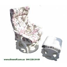 Кресло качалка Глайдер: поворот, наклон, высота