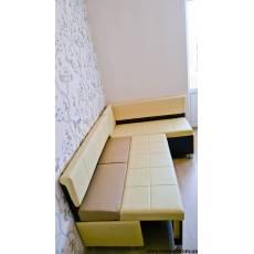 Практичный уголок №555 со спальным местом
