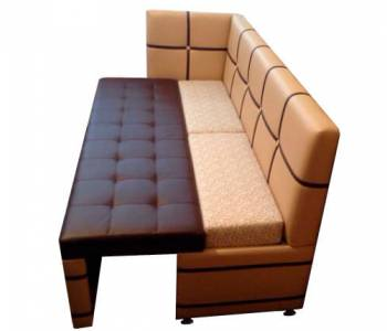 Кухонный спальный диван Квадро