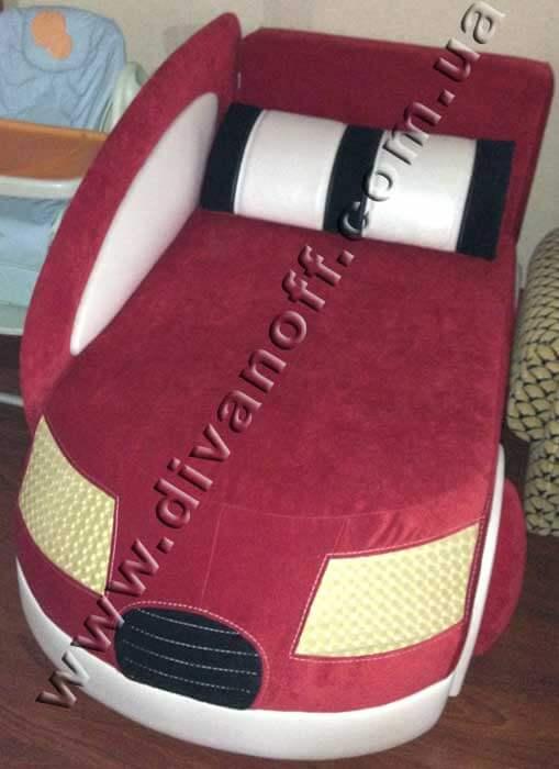 диван для ребенка Драйв красный