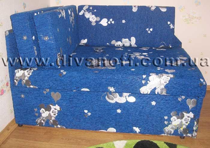 синий детский диван Кубус Диванофф