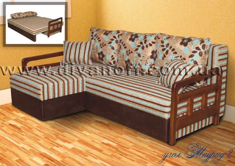 Угловой диван Мадрид 2 Диванофф