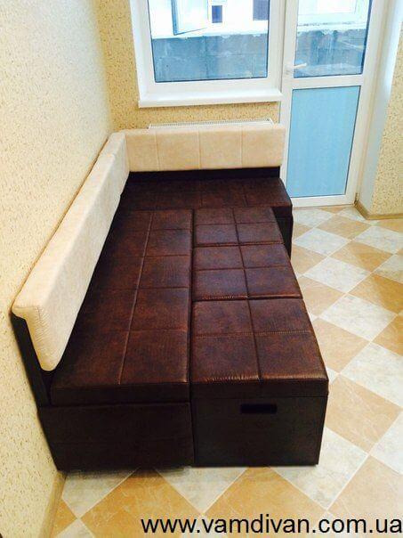 диванчик на кухню со спальным местом
