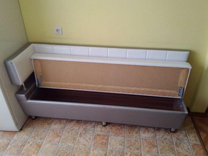 Кухонная лавка №777 прошитая