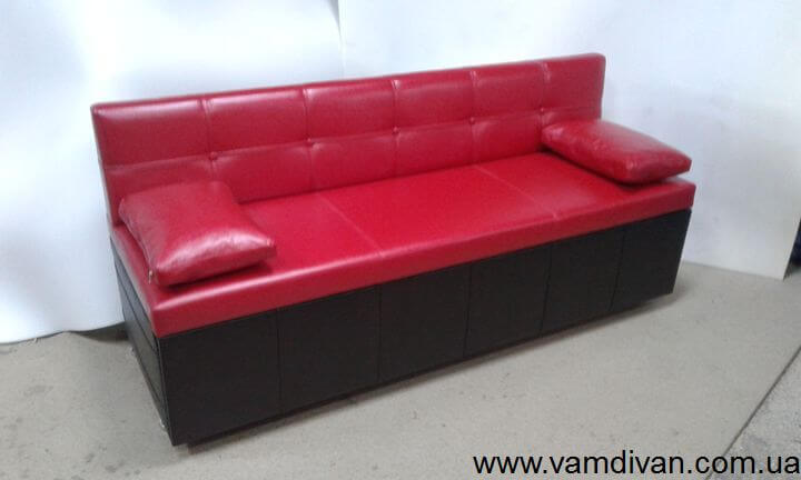 Кухонный диван №888 со спальным местом раскладной