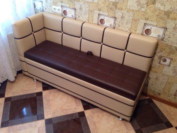 Кухонный спальный диван Квадро для кухни со спальным