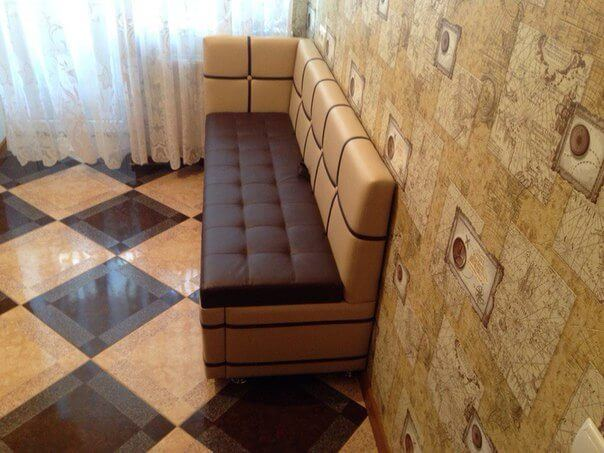 Кухонный спальный диван Квадро для кухни