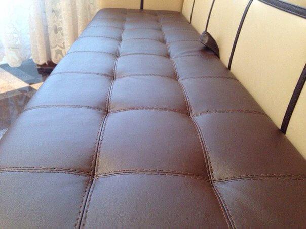 Кухонный спальный диван со спальным