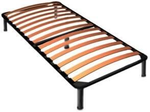 односпальный каркас для кровати с ламелями