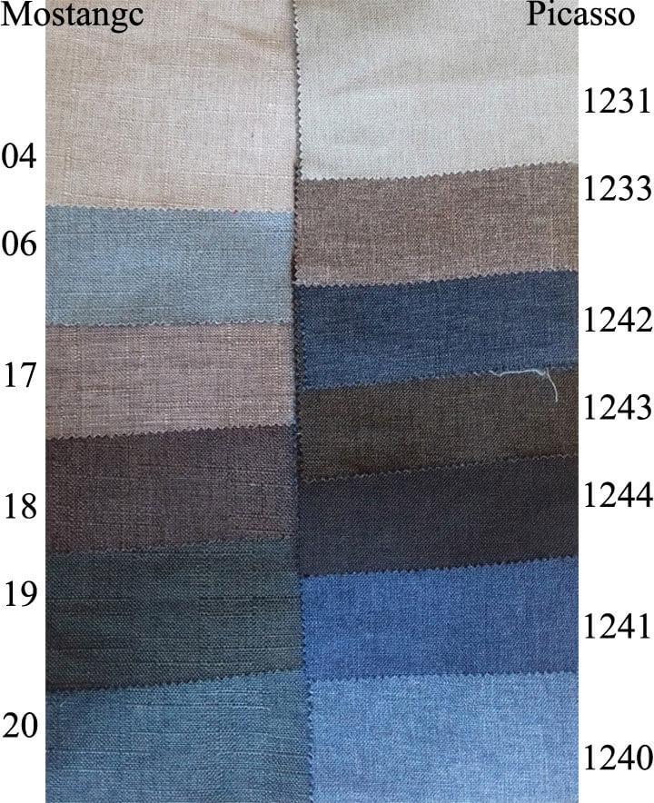Мебельная ткань Mostangc и Picasso