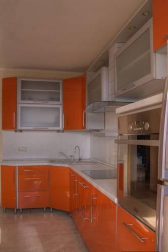 Оранжевая кухня киев